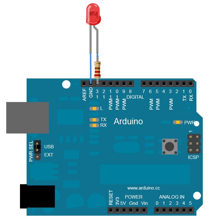Accendere un LED con Arduino