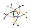Ponticelli Flessibili 20cm M-M 10-Pack Multi Colors