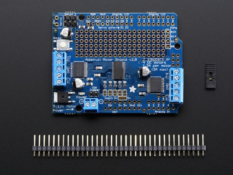 Shield Adafruit Motor Stepper Servo Shield Per Arduino V2 3