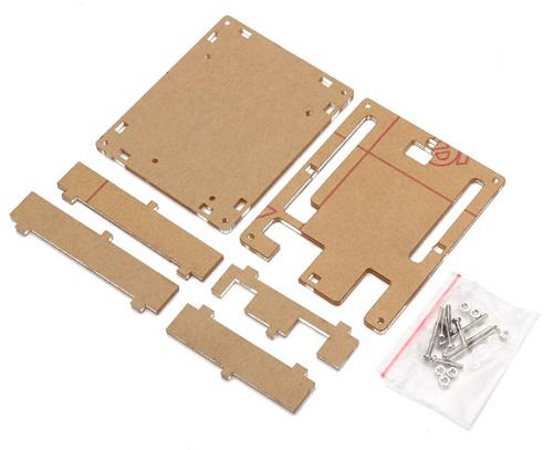 Scatola trasparente per arduino uno r kit di montaggio