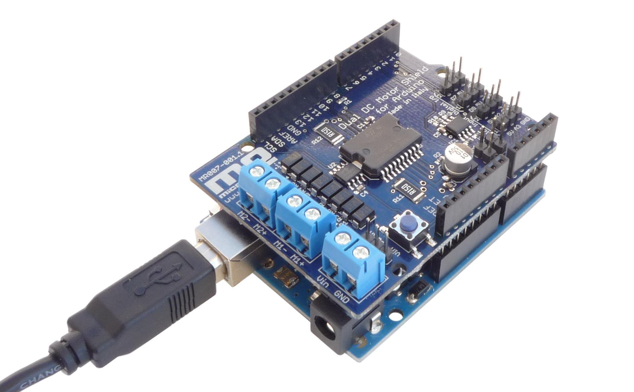 Dual Dc Motor Shield Per Arduino
