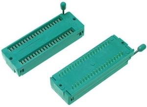 Zoccolo ZIF 40 pin socket per programmatore