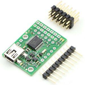 Micro Maestro 6-Channel USB Servo Controller (Kit di montaggio)