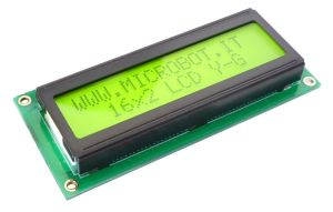 Display LCD 16x2 retroilluminato driver SPLC780D