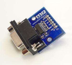 Interfaccia seriale RS232 - TTL alimentabile 3- 5,5V