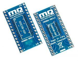 Adattatore SOIC + SSOP to DIP 28 pin