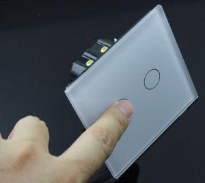 Interruttore Touch Capacitivo da muro a 2 canali (Standard EU) – colore pannello BIANCO