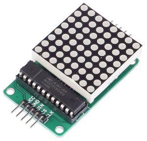 Modulo Display a matrice di LED 8x8 colore ROSSO (compatibile Arduino)