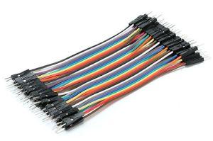 Set di Cavetti 40 Poli M/M 10 cm (comp. Arduino)