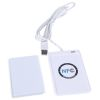 Lettore scrittore di Contactless Card RFID NFC 13,56MHZ + 4 Card