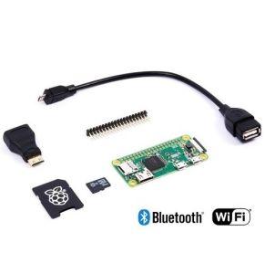 Raspberry Pi Zero W Basic Pack con scheda Raspberry Pi Zero W