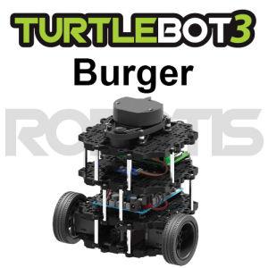 Piattaforma robotica TurtleBot3 Burger (Kit di montaggio)