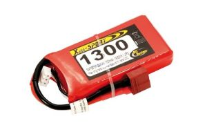 Batteria Lipo Xell-Light 2S 7.4V 1300MAH 20C