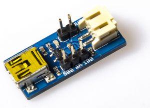Caricabatterie LiPo con attacco USB Mini-B