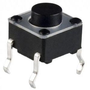 Pulsante 6x6mm da PCB (50 pezzi)