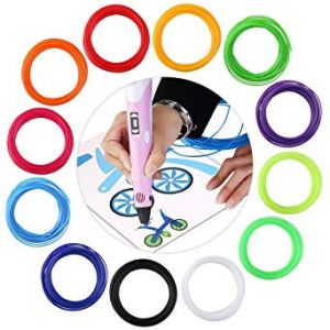 Kit 12 colori filamenti PLA diametro 1.75mm per stampa 3D