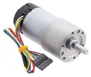 Motoriduttore 12V 76rpm 45Kg-cm con Encoder
