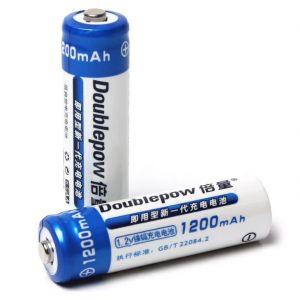 Batteria Stilo AA R6 NiMh Ricaricabile 1.2V 1200mAh