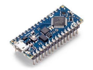 Arduino Nano Every con connettori