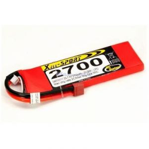 Batteria Lipo Xell-Sport 7.4V 2700MAH 2S 30C