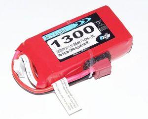 Batteria Lipo Xell-Light 11.1V 1300MAH 3S 20C MPX