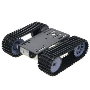 Black Gladiator Tracked Robot Chassis