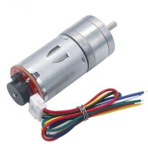Motoriduttore JGA25-370 12V 37rpm 24Kgcm con Encoder