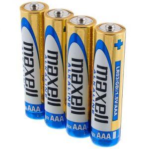 Batterie MiniStilo AAA LR03 Alkaline 1.5V (confez. da 4 pezzi)