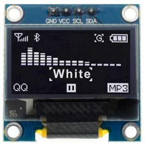 "Display OLED 128x64 0.96"" 4pin I2C Bianco"