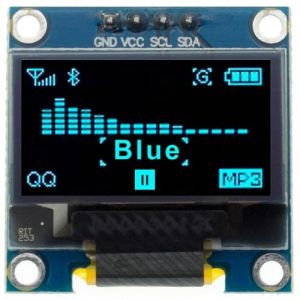 "Display OLED 128x64 0.96"" 4pin I2C Blu"