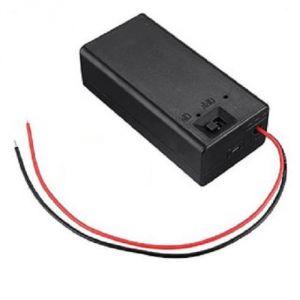 Porta batteria 9V con interruttore