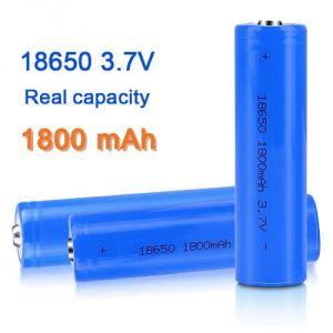 Batteria 18650 LiPo ricaricabile 3.7V 1800mAh