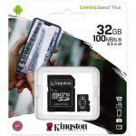 Micro SDHC Classe 10 Kingston 32 GB con adattatore
