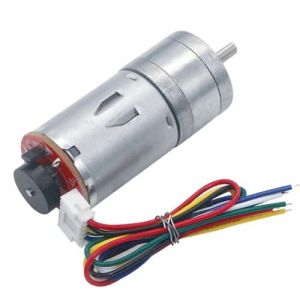 Motoriduttore JGA25-370 12V 17rpm 45Kgcm con Encoder