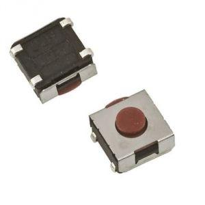 Interruttore tattile smd SPST-NA 50mA 12Vdc DTSJW65NV - 50 pezzi