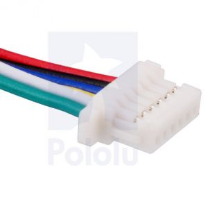 Cavetto 6 poli con connettore JST SH 30cm