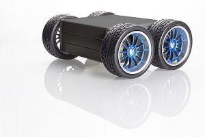 MiniRover 4WD Chassis V2 BLACK