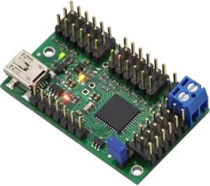 Mini Maestro 18-Channel USB Servo Controller (Kit di montaggio)