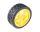 Ruota Tamiya Racing - diam 65mm con mozzo da 6mm