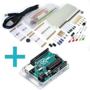 Kit Workshop Base per Arduino + Arduino UNO R3