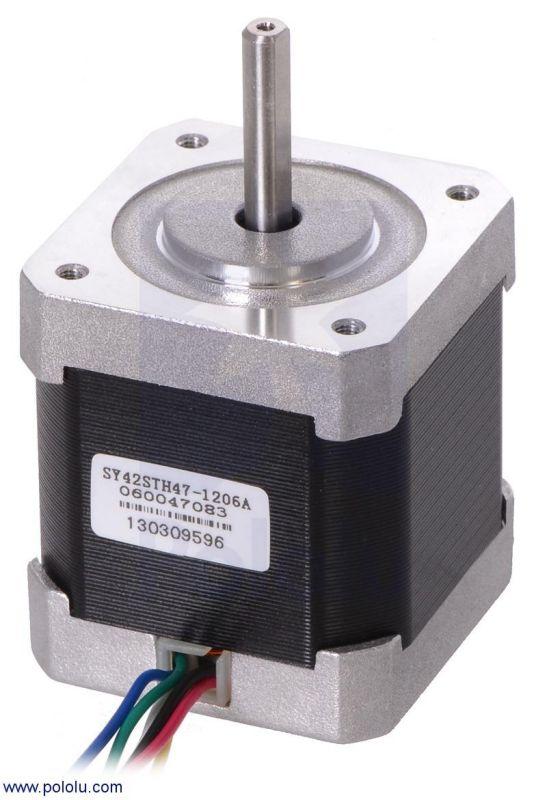 Motore Passo Passo - NEMA 17 - 4V 200spr 3,2Kg-cm