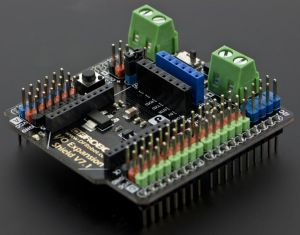 IO Expansion Shield per Arduino (V7)
