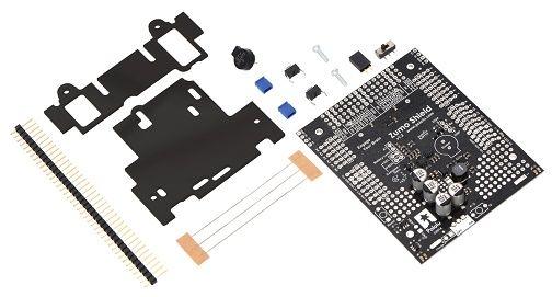 Zumo shield per arduino v kit di montaggio
