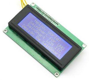 Modulo LCD 20x4 I2C/TWI per Arduino e Raspberry Pi
