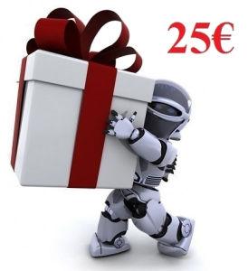 Coupon Regalo - valore 25Euro