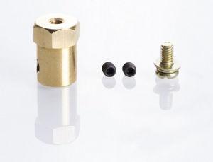 Mozzo esagonale da 12mm per Ruote da Modellismo con asse motore da 6mm