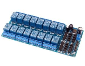 Modulo Relè 16 canali DC 12V per Arduino e Raspberry Pi