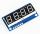Display LED seriale 4-Digit - colore cifre BLU