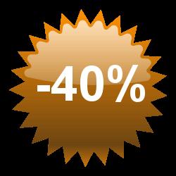 Prodotti al 40%