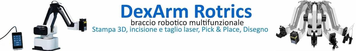 Braccio robotico DexArm Rotrics